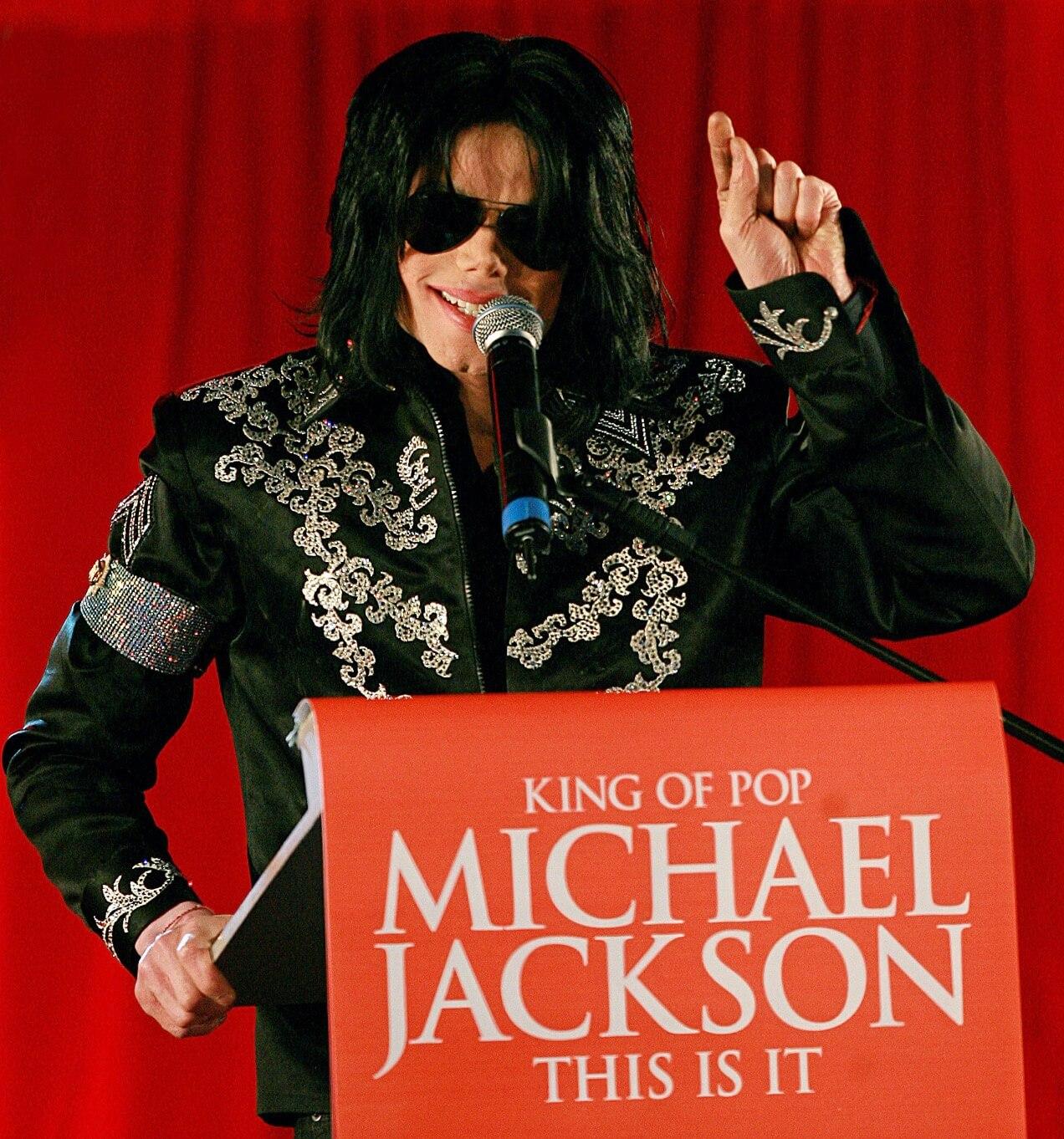 ○九年三月,米高積遜宣布舉行《This Is It》的巡迴復出演唱會 圖片來涼:法新社