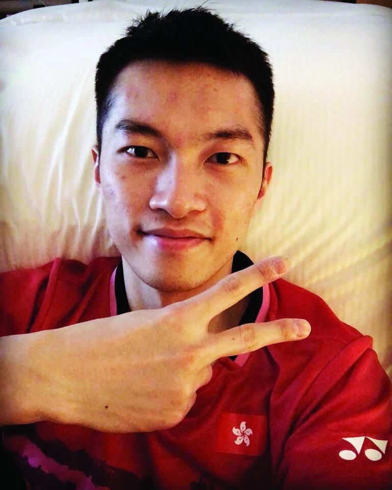 家朗將出戰本星期舉行的「香港羽毛球公開賽」
