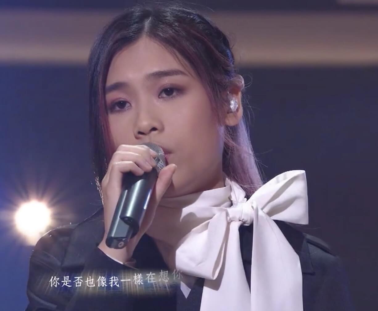 林君蓮今集用新方法唱《如果沒獅你》被淘汰