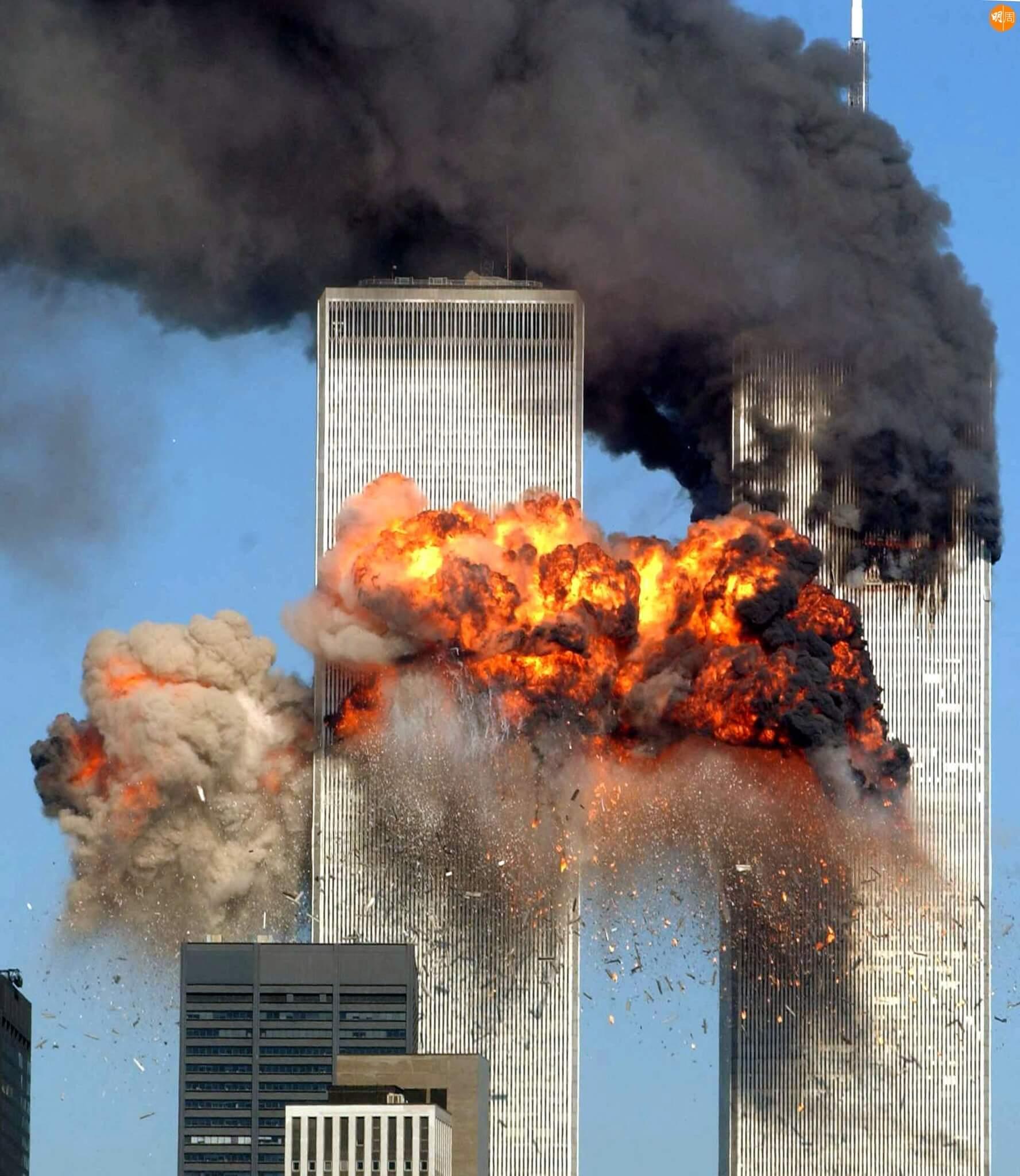 【當年今周】美國911恐怖襲擊 圖片來源:法新社