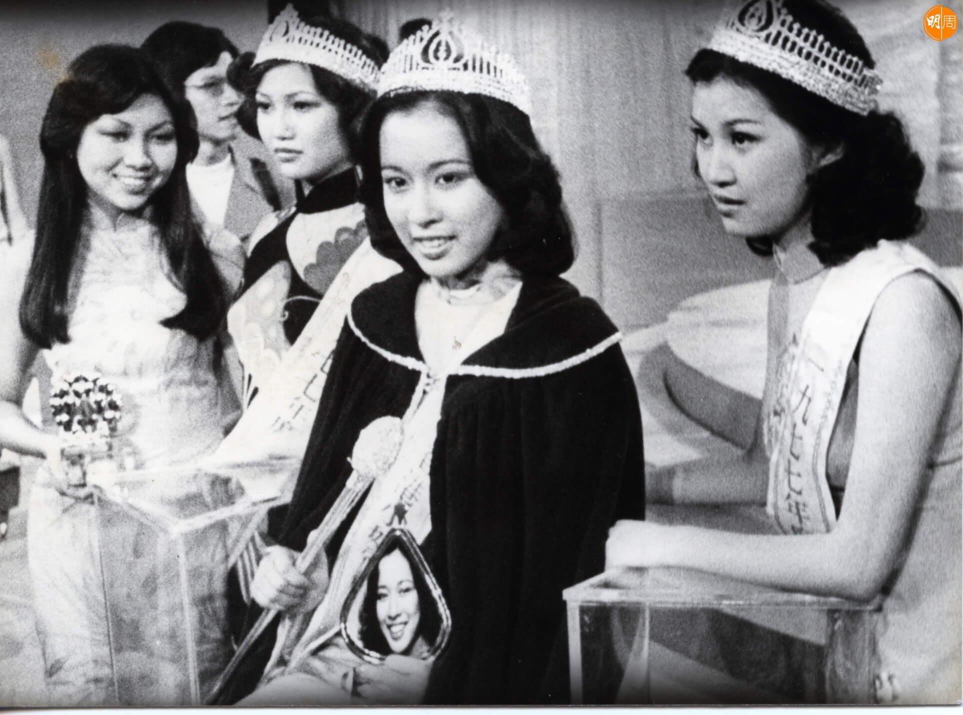 朱玲玲於1977年參加香港小姐